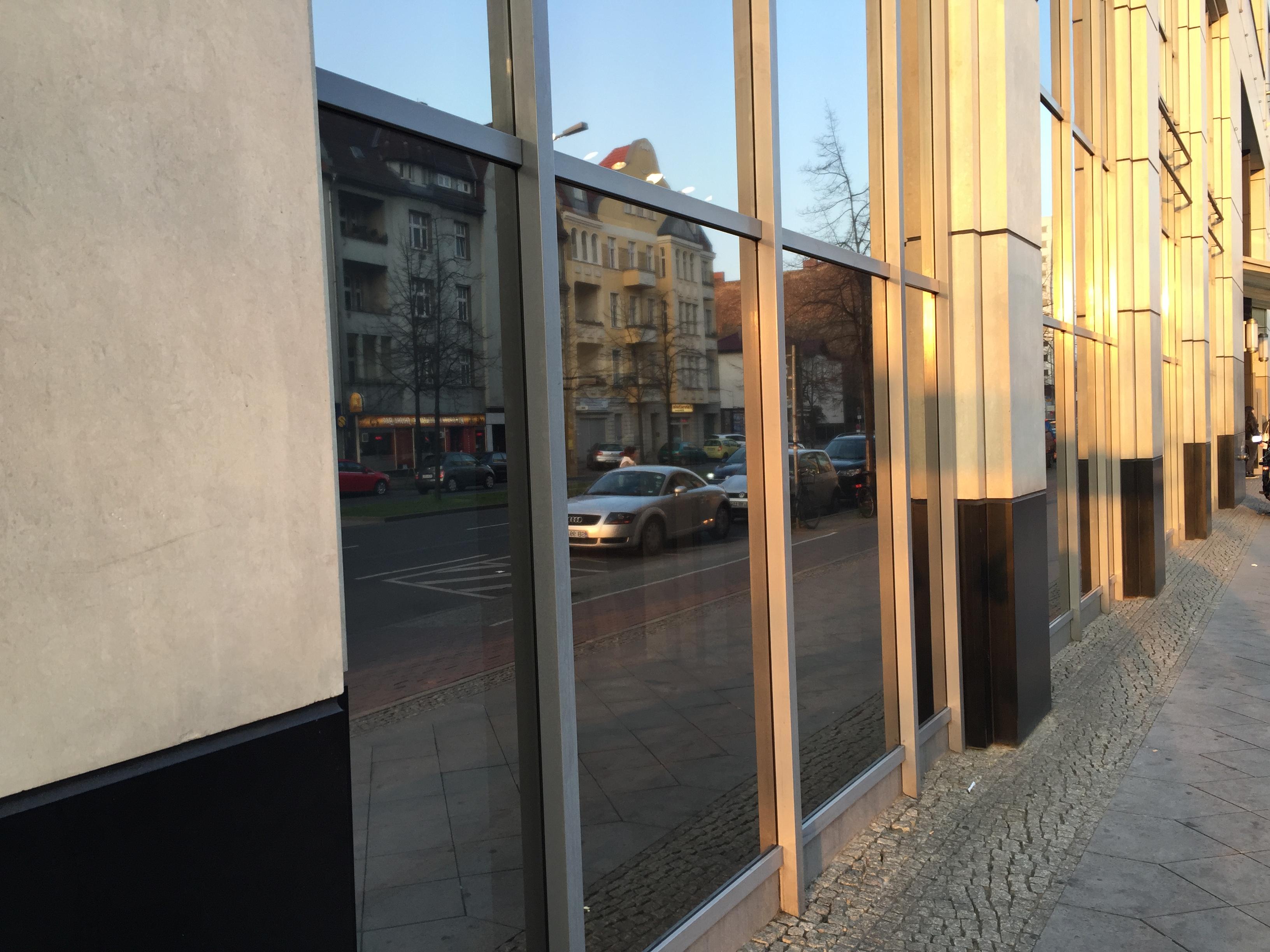 Spiegelfolie Fenster